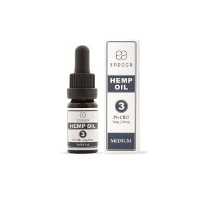 Endoca - CBD Olie 3% (Decarb)