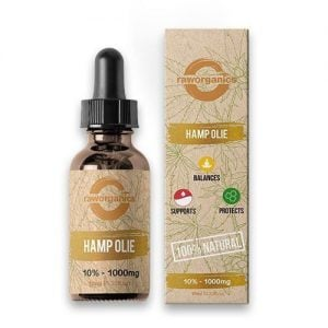 Raw Organics CBD Olie 10% 1000mg 10ml